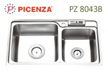 chậu rửa inox Picenza PZ 8043B