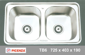Chậu inox PICENZA TB6