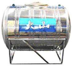 Bồn nước inox Đại Sơn 2500 lít nằm