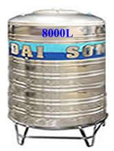 Bồn Đại Sơn 8000 lít đứng