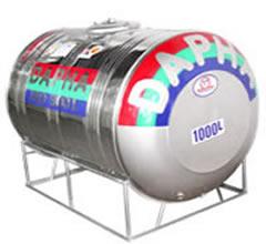 Bồn nước inox Dapha R 1000L ngang