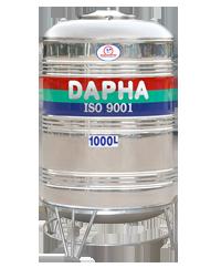 Bồn nước inox Dapha R 1000 lít