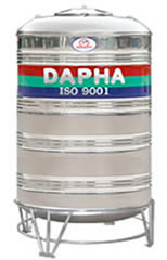 Bồn nước inox Dapha R 2000 lít