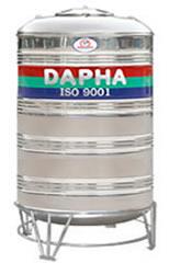 Bồn nước inox Dapha R 5000 lít đứng