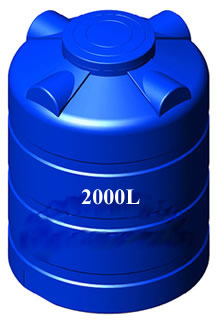 Bồn nhựa Sơn Hà 2000L đứng