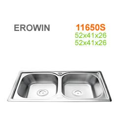 Chậu inox Erowin 11650S