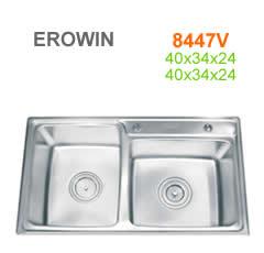 Chậu inox Erowin 8447V