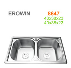 Chậu inox Erowin 8647