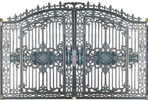 Cửa cổng đúc hợp kim