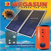 Máy Nước Nóng Năng Lượng Mặt Trời MEGASUN VS 300L
