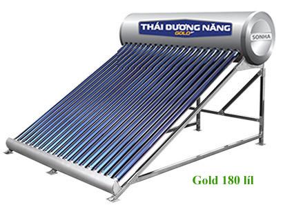 Máy năng lượng mặt trời Thái Dương Năng Gold 180L