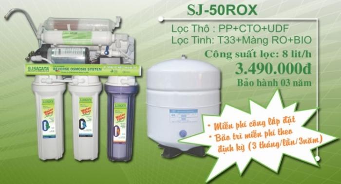 Máy loc nước Sagana SJ 50ROX