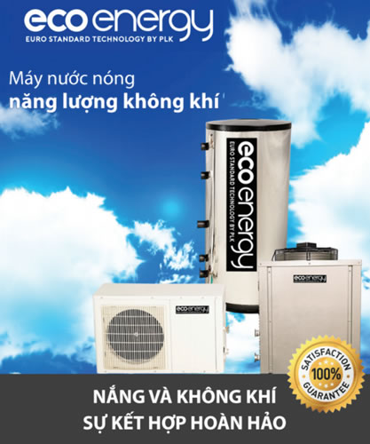 Máy năng lượng không khí 1500 lít Eco Energy