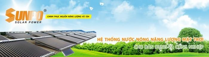 Máy năng lượng mặt trời Sunpo 1500 lít