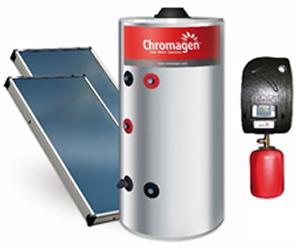 Máy năng lượng mặt trời Sunpo Chromagen SPF 300 lít