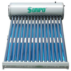 Máy năng lượng mặt trời Sunpo SP-SS 215 lít