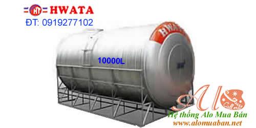 Giá Bồn Nước Inox Hwata 10.000 lít ngang