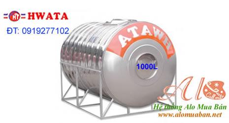 Bồn nước Hwata 1000L ngang