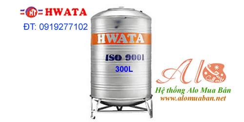 Giá Bồn Nước Inox Hwata 300 lít đứng