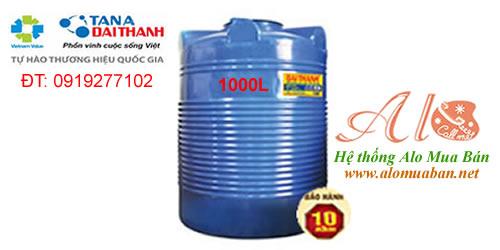 Giá Bồn nhựa Đại Thành 1.000 lít đứng THM
