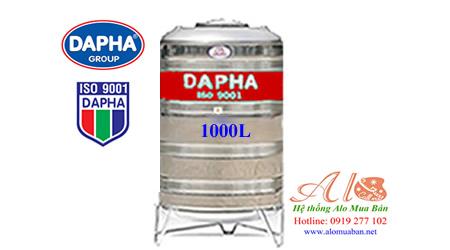 Bồn nước inox Dapha 1000 lít đứng