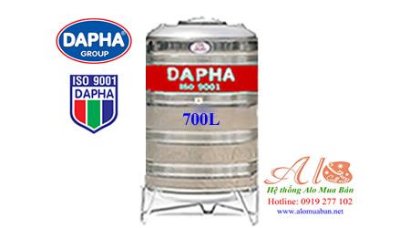 Bồn nước inox Dapha 700 lít đứng