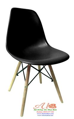 Ghế nhựa PC 018 đen