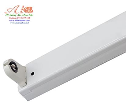 Máng đèn túyp LED đầu trắng 1m2