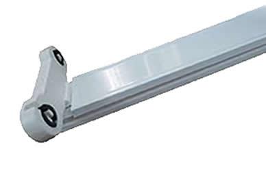 Máng đèn túyp led đôi 1 mét 2