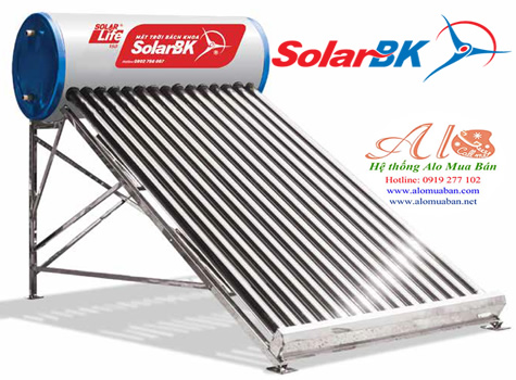 Máy nước nóng năng lượng mặt trời Bách Khoa VT-A 200 lít