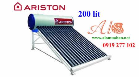 Máy nước nóng măng lượng mặt trời Ariston 200L