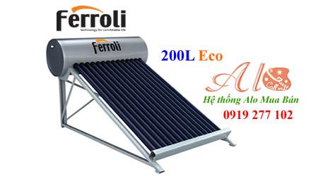 Máy năng lượng mặt trời Ferroli 200L