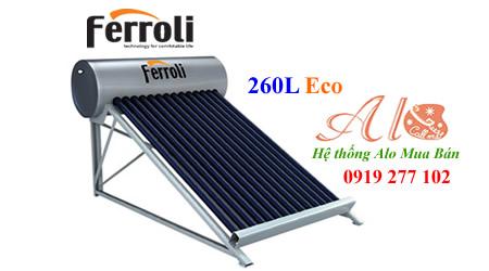 Máy năng lượng mặt trời Ferroli 260L
