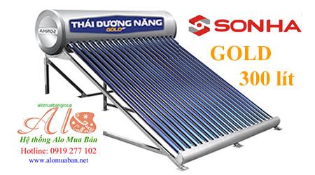Máy năng lượng mặt trời Thái Dương Năng 300 lít golg
