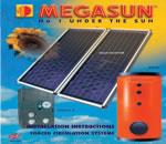 Bình Nước Nóng Mặt Trời Tấm Phẳng Megasun