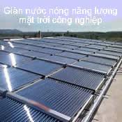 Giàn máy năng lượng mặt trời công nghiệp
