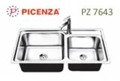 chậu rửa inox Picenza PZ 7643