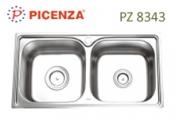 chậu rửa inox Picenza PZ 8343