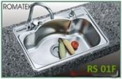 chậu rửa inox Romatek RS 01F