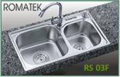 chậu rửa inox Romatek RS 03F