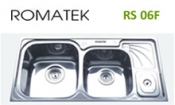 chậu rửa inox Romatek RS 06F