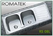 chậu rửa inox Romatek RS 08L