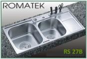 chậu rửa inox Romatek RS 27B