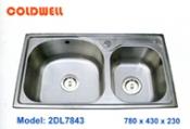 chậu inox Coldwell 2DL7843