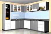 tủ bếp Mica
