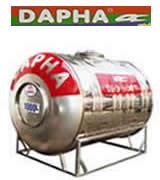 Bồn nước inox Dapha 10000 lít ngang