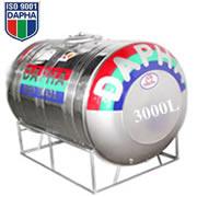 Bồn nước inox Dapha R 3000L ngang