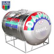 Bồn nước inox Dapha R 5000L ngang