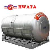 Giá Bồn Nước Inox Hwata 20.000 lít ngang