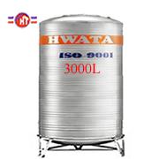 Giá Bồn Nước Inox Hwata 3.000 lít đứng